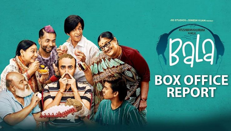 Box-Office Report: Ayushmann Khurrana's 'Bala' fails to beat 'Dream Girl' and 'Badhaai Ho' on opening weekend