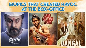 Sanju to Bhaag Milkha Bhaag to Dangal - Biopics that created havoc at the box-office