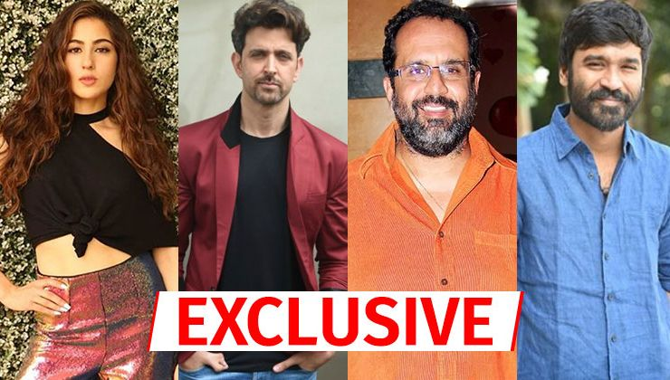 Sara Ali Khan in a soup after Hrithik Roshan rejects Aanand L Rai film with Dhanush?