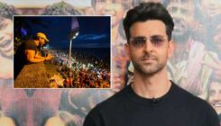 Hrithik Roshan greets devotees on Chhat Puja outside his residence