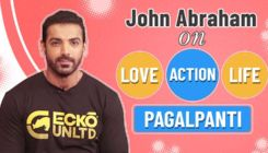 John Abraham on love for action films and how 'Pagalpanti' is strikingly different