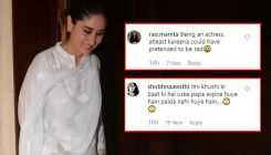 Manish Malhotra's father's funeral: Kareena Kapoor snapped smiling, trolls ask,