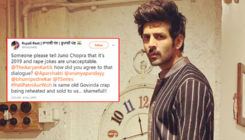 'Pati Patni Aur Woh': Kartik Aaryan gets slammed for making a joke on marital rape
