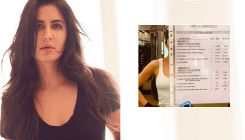Katrina Kaif is a fitness freak; her daily workout routine chart is a proof!