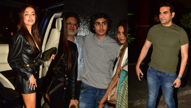 Malaika Arora and Arbaaz Khan come together to celebrate son Arhaan's birthday- view pics