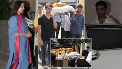 Manish Malhotra's Dad's Funeral: Bollywood celebs pay their last respects to the ace designer's father
