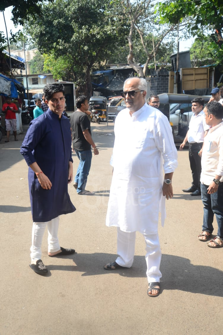 Manish Malhotra and Boney Kapoor