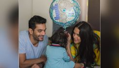 Neha Dhupia and Angad Bedi celebrate the 1st birthday of their 'little angel' Mehr
