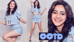 Ananya Panday makes blue the new color for fun with her latest sartorial choice