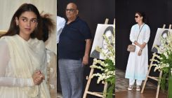 Shaukat Kaifi prayer meet: Bollywood celebs pay their last respects to Shabana Azmi's mother