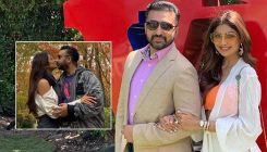 Shilpa Shetty and Raj Kundra share a romantic kiss on their 10th wedding anniversary; video goes viral