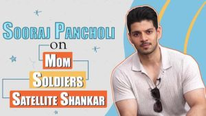 Sooraj Pancholi's heartfelt take on his mom, Indian Soldiers and 'Satellite Shankar'