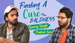 Sunny Singh's funny attempt at finding a cure for Baldness