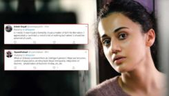 #AyodhyaVerdict: Netizens slam Taapsee Pannu after she posts,