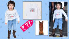 Taimur's 'I Love Mom' tee & cowboy boots will make you smile, but the price is sure to leave you stunned