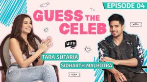 Tara Sutaria's hilarious antics for Sidharth Malhotra will make you go ROFL
