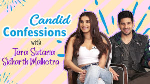 Sidharth Malhotra and Tara Sutaria's candid confessions on Love, Movies and Marjaavaan