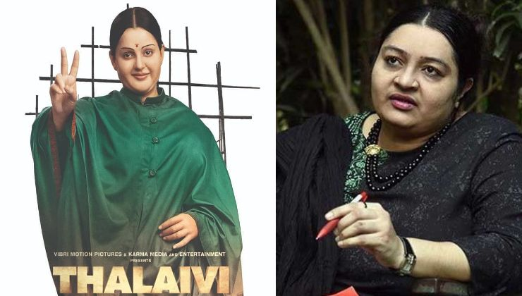 'Thalaivi': Jayalalithaa's niece to file a case against the makers of this Kangana Ranaut starrer?
