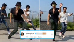 Tiger Shroff recreates Hrithik Roshan's 'Ghungroo' song; Disha Patani leaves THIS comment