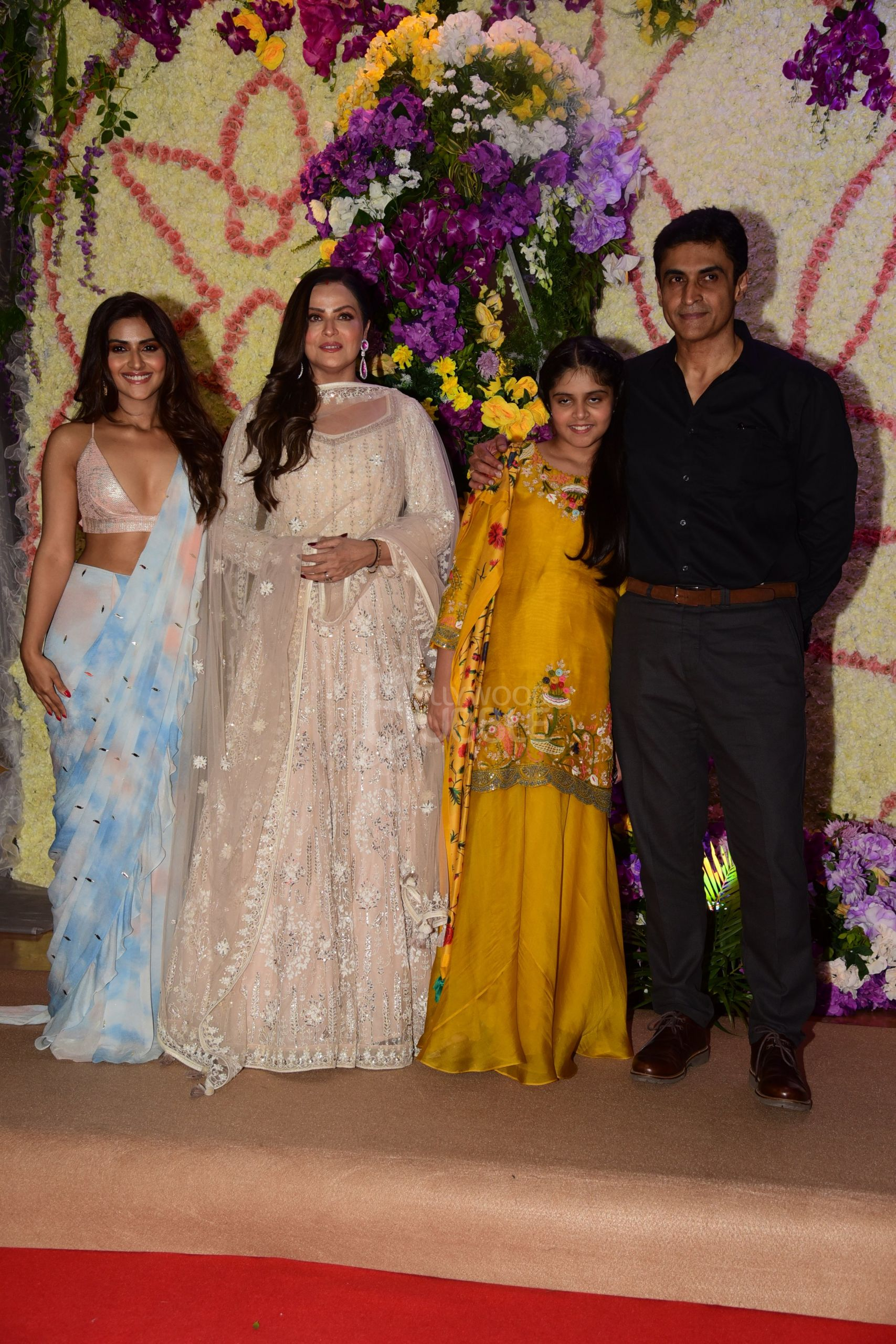 Mohnish Bahl and his family
