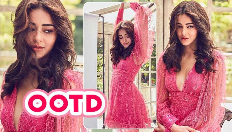 Ananya Panday looks like a vision to behold at the 'Pati Patni Aur Woh' trailer launch
