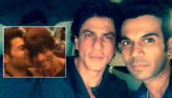 Shah Rukh Khan kisses Rajkummar Rao; their bromance is breaking the internet- watch viral video