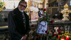 Amitabh Bachchan attends prayer meet held for father Harivansh Rai Bachchan in Poland