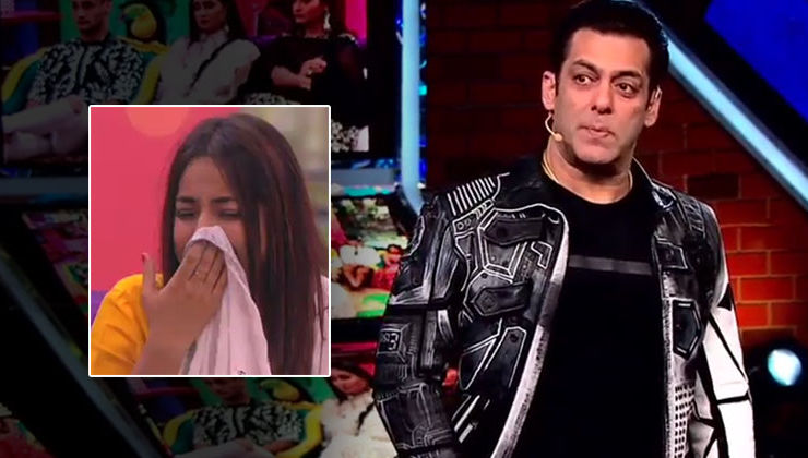 'Bigg Boss 13': Shehnaaz Gill sobs like a child after Salman Khan tells her she is evicted- watch video