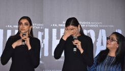'Chhapaak': Deepika Padukone breaks down in tears at the trailer launch - watch video