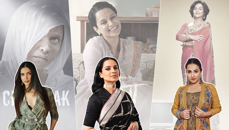 With 'Chhapaak', 'Panga', 'Shakuntala Devi' lined up, 2020 looks promising for women-centric films