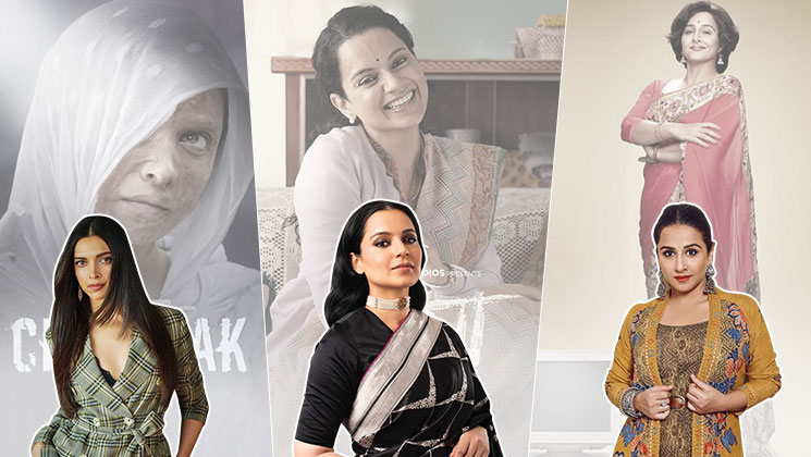 With 'Chhapaak', 'Panga', 'Shakuntala Devi' lined up, 2020 looks promising for women-centric films | Bollywood Bubble