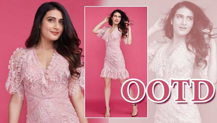 Fatima Sana Shaikh looks absolutely radiant and dazzling in this pink dress