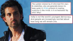 Hrithik Roshan wrongly credits India as 'youngest democracy'; gets schooled by netizens