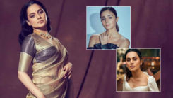 Kangana Ranaut takes an indirect jibe at Alia Bhatt and Taapsee Pannu for justifying pay disparity in Bollywood