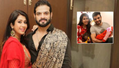 Karan Patel and Ankita Bhargava share their newly-born daughter, Mehr's first picture