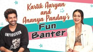 'Pati Patni Aur Woh': Kartik Aaryan and Ananya Panday's fun banter