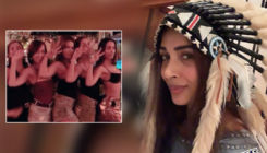 Ditching foreign locations, Malaika Arora rings in the New Year in Goa with BFF's - view pics and videos