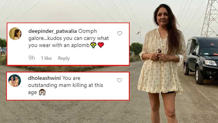 Neena Gupta's 'frock ka shock' picture has taken the internet by storm | Bollywood Bubble