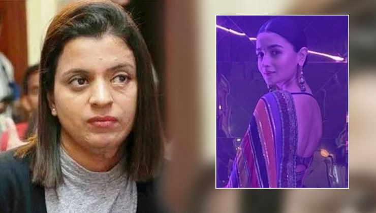 Rangoli Chandel takes a dig at Alia Bhatt for leaving with trophy way before the award show began- watch video