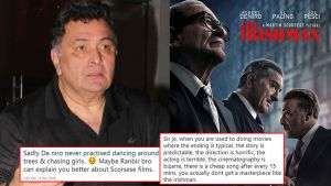 rishi kapoor Martin Scorsese review trolled