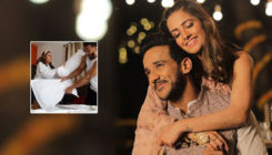 Anita Hassanandani's adorable pillow fight with hubby Rohit Reddy goes viral - watch video