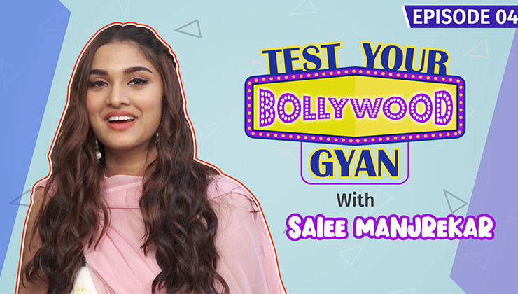 Saiee Manjrekar aces the Bollywood Quiz with Panache