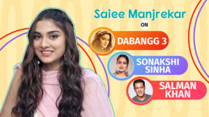 Saiee Manjrekar's honest confession on working in Salman Khan's 'Dabangg 3'