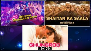 2019 Wrap Up: From 'Munna Badnaam Hua' to 'Ghungroo'- Best peppy songs of this year