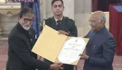 Amitabh Bachchan conferred with Dadasaheb Phalke Award by President Ram Nath Kovind