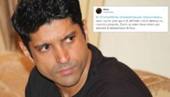 Farhan Akhtar gives a befitting reply to troll who blamed him for the Citizenship Amendment Bill protests
