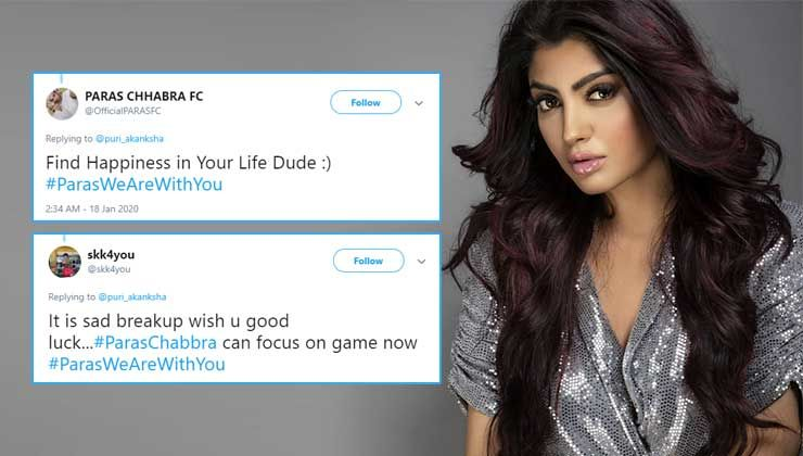 'Bigg Boss 13': Fans feel Akanksha Puri's cryptic post hints at her breakup with Paras Chhabra