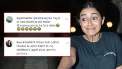 Ananya Panday trolled for her facial expression; netizens say,