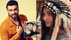 Arjun Kapoor-Malaika Arora ring in the new year with a sweet kiss