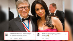 Mallika Sherawat mercilessly trolled for posing with Bill Gates at Jeff Bezos' party